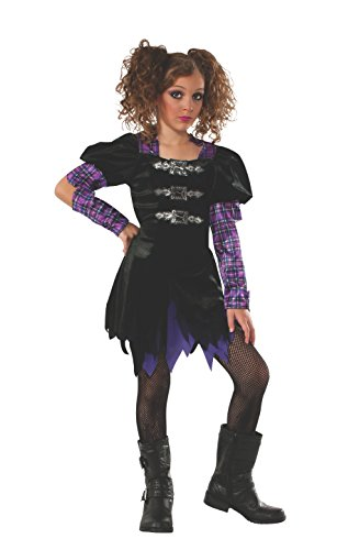 Punk Halloween Costumes For Girls (Rubie's Punk Goth Costume, Large)