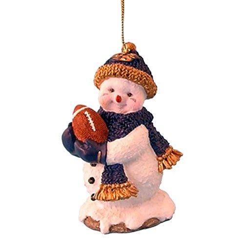 Snowman Ball Ornament - NCAA GEORGIA SOUTHERN EAGLES FOOTBALL SNOWMAN ORNAMENT RIDGEWOOD