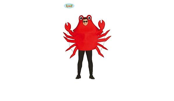Disfraz de cangrejo adulto: Amazon.es: Juguetes y juegos