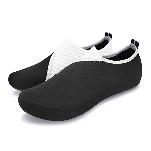 Yoga Surf Run Agua de Run Negro de L Dive descalza Piel Swim Unisex para Blanco Beach Zapatos Zapatos 7cZnWT