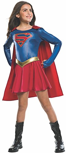 Halloween Costumes For 7 Year Old Girls (Rubie's Costume Kids Supergirl TV Show Costume, Medium)