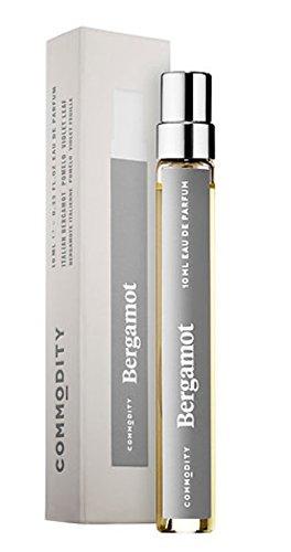 Commodity BERGAMOT Travel Spray EDP Eau de Parfum 0.33 (0.33 Ounce Edp Spray)