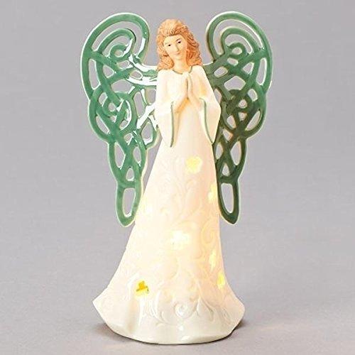 Roman Inc. Four Leaf Clover Irish Angel Nightlight 7.5