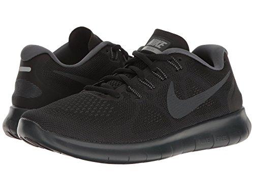 パン屋ストライプエチケット(ナイキ) NIKE レディースランニングシューズ?スニーカー?靴 Free RN 2017 Black/Anthracite/Dark Grey/Cool Grey 8 (25cm) B - Medium