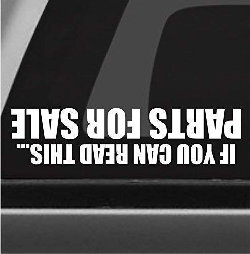 Parts For Sale Funny Bumper Sticker Vinyl Decal Truck 4x4 Off Road Sticker Fits Jeep