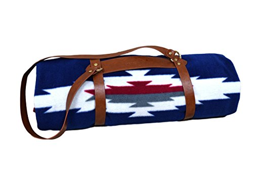 rproof backing: Outdoor Blanket/Picnic Blanket/Camping Blanket/Stadium Blanket : Water-Resistant, Machine Washable With Tote And Vegan Leather Blanket Strap Carrier (Blanket Strap)