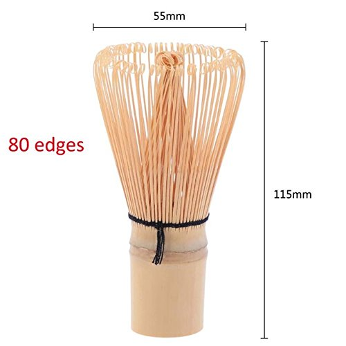 Sala-Tecco - Matcha Whisk Practical Japanese Ceremony Bamboo Chasen Matcha Tea Powder Whisk Green Tea Chasen Brush Tool for Matcha