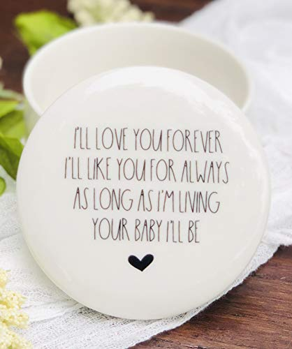 I'll Love You Forever, I'll Like You For Always Gift Idea for Mother From Son or Daughter 3