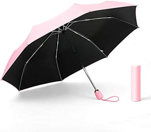 日傘 レディース 母の日のプレゼント 折りたたみ傘 軽量 晴雨兼用 自動開閉 折り畳み傘 UVカット 100 遮光 耐風撥水 FASAZ 日傘 携帯 しやすい メンズ (ピンク)