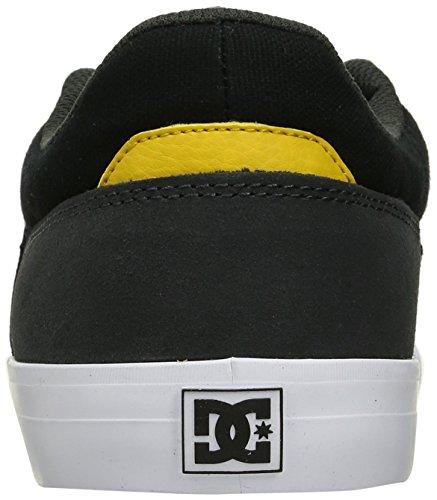 Dc Mens Wes Kremer Skateboarden Schoen Zwart / Grijs / Geel