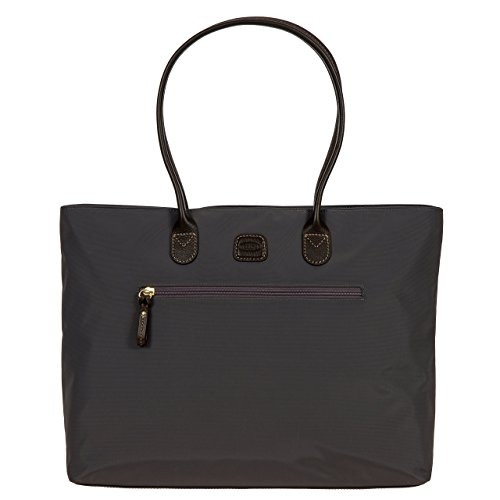 Bric's Women's X Travel Ladies Commuter Laptop Tote, Steel, One Size ()
