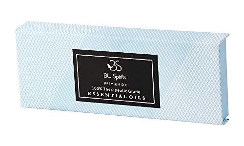 Premium Grade Essential Oils Set - BluSpirits Pack of 6 Therapeutic Grade oil for Aromatherapy (Lavender, Orange… 2
