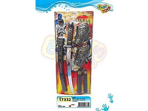 LIBERAONLINE Juego Ninja Samurai Espada Katana Nunchakus ...