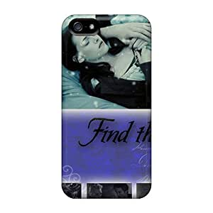 Scratch Protection Hard Phone Covers For Iphone 5/5s With Custom High Resolution Twilight Image AnnaDubois