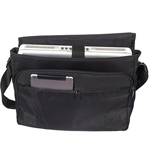 Luxburg® Luxus Design 43cm Schultergurt Messenger Tasche für Laptop/Notebook/ wkvch