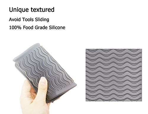 Amazon.com: Bolsa de silicona resistente al calor para rizar ...