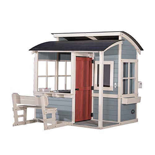 Used, Backyard Discovery Breezy Point Wooden Playhouse for sale  Delivered anywhere in USA