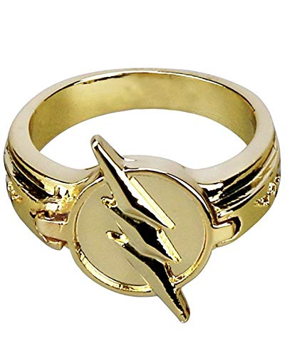 Kiaka Reverse Flash Ring Size 7 Zinc Alloy Replica Costume Accessories