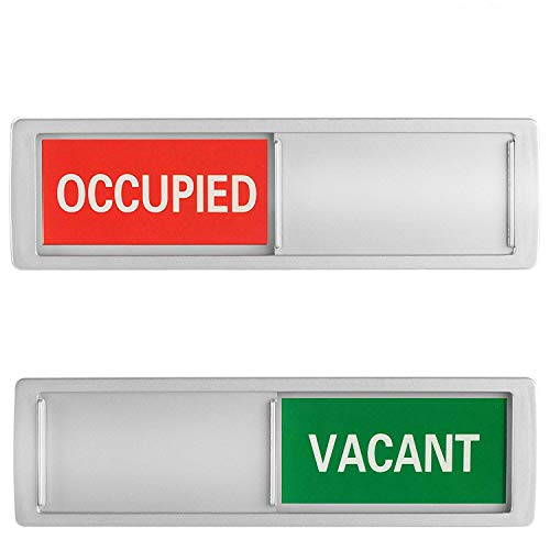Vacant Occupied Sign - Slider Door Indicator Tells Whether ...
