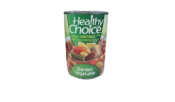 Amazon Com Healthy Choice Garden Vegetable Soup 15 Ounce