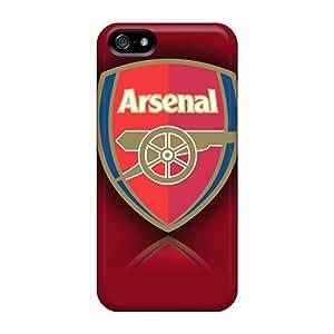 AlissaDubois Iphone 5/5s Best Hard Phone Cases Support Personal Customs Lifelike Arsenal Fc Pattern [qdp19518Eixu]