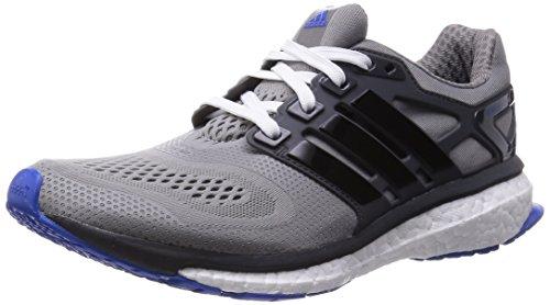 adidas Energy Boost ESM, Scarpe da Corsa Uomo Grigio (Grau (Ch Solid Grey/Core Black/Blue))