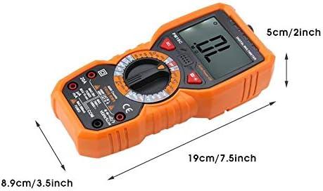 kaige Digital Multimeter, PM18C Intelligentght LCD DC/AC Voltage Current Meter Resistance Tester Portable Equipment Industrial Meter Electrical Testing Voltage Testers WKY
