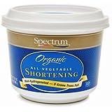 Spectrum Naturals Organic Palm Shortening, 33 Pounds - 1 per case.