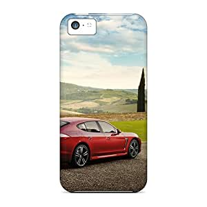 Durable Protector Case Cover With 2011 Porsche Panamera 3 Hot Design For Iphone 5c