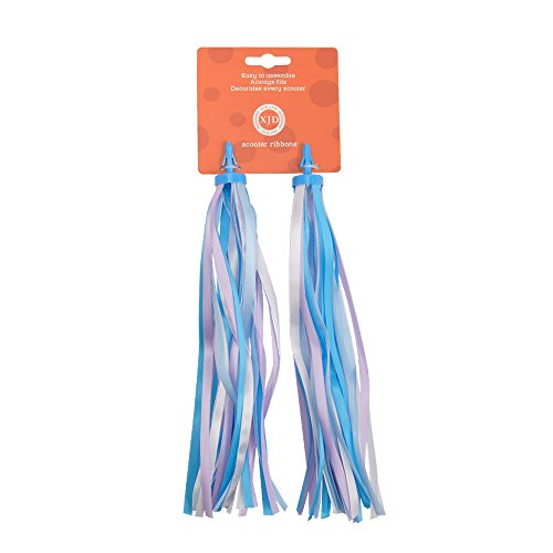 XJD Handlebar Streamers Colorful Ribbons for Kid's Bicycle Handlebar Scooter Handgrip (Ribbon Bicycle Handlebar Tape)