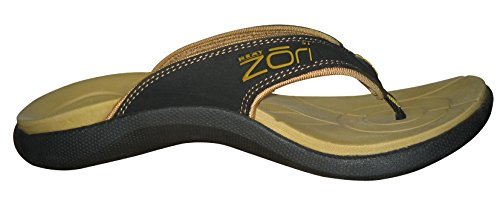 38822282e23 Neat Feat Men s Zori Sport Orthotic Slip-On Sandals Flip Flop