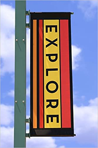 Book The Explore Journal: 150 page lined notebook/diary