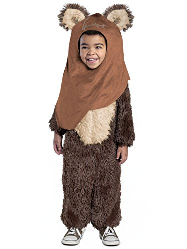 Princess Paradise Classic Star Wars Premium Toddler Wicket Costume, Brown, 2T -