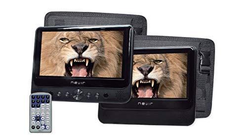 DVD Portátil NEVIR NVR2777DVD 2 Pantallas: Nevir: Amazon.es ...