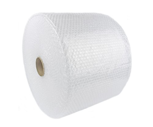LandyPackaging 175' Bubble Cushioning Wrap Wide Small Bubbles Perforated 12