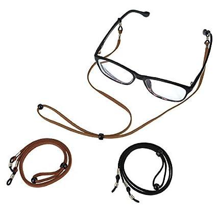 3 St/ück ASAPCHIC Brillenband PU-Leder Brillenband Brillenband Brillenband Halter