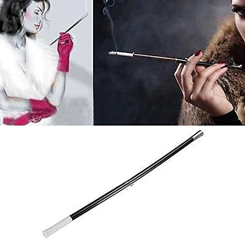 Vintage 1920s Slim Long Cigarette Holder Stylish Womens Smoking Pipe Gangster Fancy Dress Costume Fake Smoke Holder Ladies New Party props Decoration 1 Pack Vintage Smoking Pipe