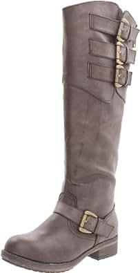 Madden Girl Women's Lundunn Knee-High Boot,Brown Paris,6 M US