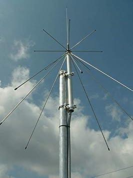 Sirio Antena Sirio SD 1300 N 25 MHz- 1,3 GHz Discone Antena ...