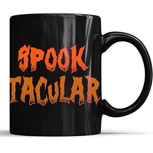 Funny Halloween Spooktacular Mug - Funny Halloween Costumes Coffee Mug 11oz Gift Black Tea Cups ()