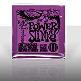 2220 Power Slinky Nickel Round Wound Electric Guitar Strings 3 Pack. Three-pack of 2220 Power Slinky Nickel Round Wound Electric Guitar Strings. Gauges: 11-14-18-28-38-48. Ernie Ball Power Slinky Electric Strings are a perfect match for those who lik...