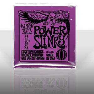 Ernie Ball 2220 Power Slinky Nickel Round Wound Electric Guitar Strings 3 Pack (Electric 12 String Guitar Strings)