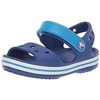 Crocs Crocband Sandal, Cerulean Blue/Ocean, 3 M US Little Kid