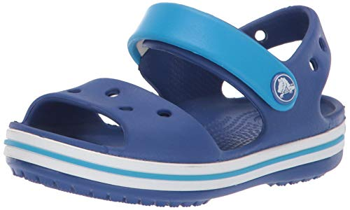 Crocs Crocband Sandal, Cerulean Blue/Ocean, 11 M US Little Kid