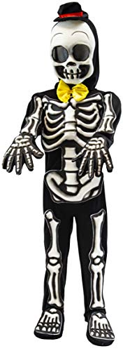Spooktacular Creations Skelebones Costume (Medium(8-10yr)) Black -