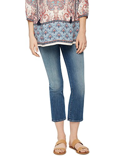 Jbrand Secret Fit Belly Boot Cut Maternity Crop Jeans by J Brand Jeans