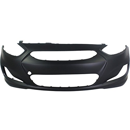 hyundai accent front bumper cover - 8