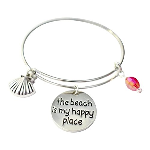 Beach Places (BEACH IS MY HAPPY PLACE BANGLE)
