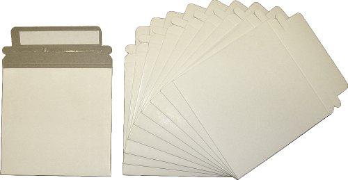 10 Paperboard Slim Single CD / DVD Mailer - 5