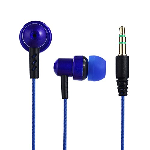 - UMFunUniversal 3.5mm In-Ear Stereo Earbuds Earphone For Cell Phone (blue)